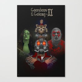 A Bunch of A-Holes 2 (Guardians of the  Galaxy) Canvas Print