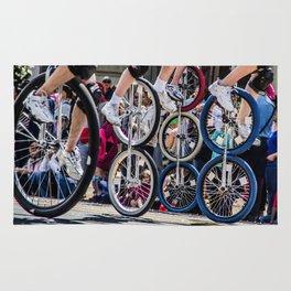 Unicyclers  Rug