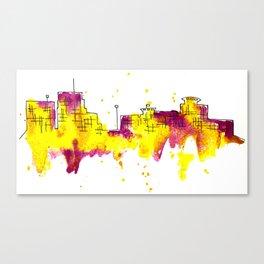 Going Downtown: Kalamazoo Canvas Print