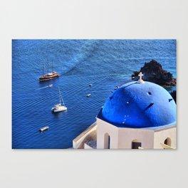 Santorini 14 Canvas Print