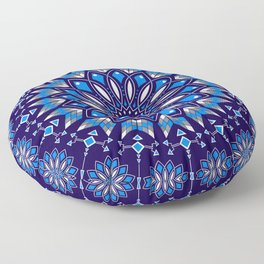 Ancestors Dragonfly (Blue) Floor Pillow