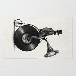 Music Man (monochrome option) Rug