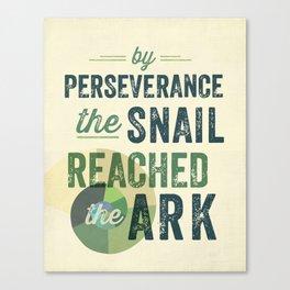 perseverance Canvas Print
