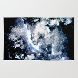 Frozen Galaxy Rug