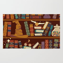 Hogwarts Things Rug