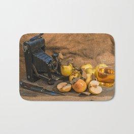 Agfa and Apples Bath Mat