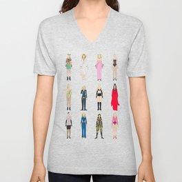 Outfits of Madge Fashion Unisex V-Neck