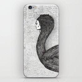 human swan iPhone Skin