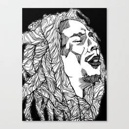 Get up, Stand Up Canvas Print