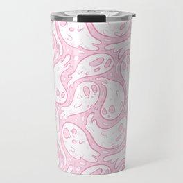 Good Lil' Ghost Gang in Pale Pink Travel Mug