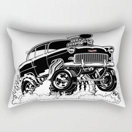 55 Gasser REV-3 BLACK Rectangular Pillow
