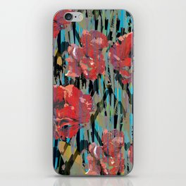 PEONYPARROT iPhone Skin