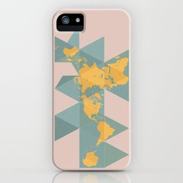 Dymaxion Map iPhone Case