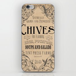 Chives iPhone Skin