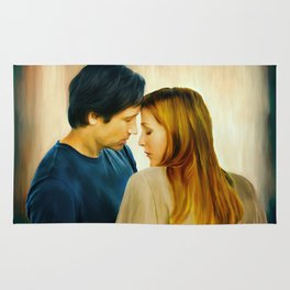 I Want to Believe painting Rug