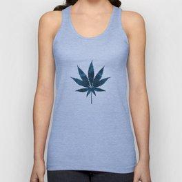 Cannabis leaf Unisex Tank Top