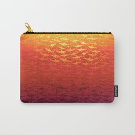 Sharks At Sunset Carry-All Pouch