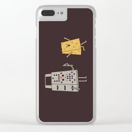 Jason Gorecheese Clear iPhone Case