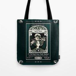 Metamorphosis by The Wolf Man: A Full Service Hair Salon (Vintage) Tote Bag