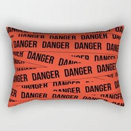 Danger Rectangular Pillow