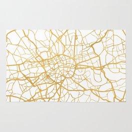 LONDON ENGLAND CITY STREET MAP ART Rug
