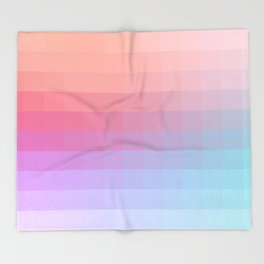 Lumen, Pink and Lilac Light Throw Blanket