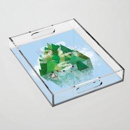 Mysterious Island Acrylic Tray