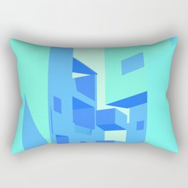 [INDEPENDENT] VACATION VILLAGE - ELIE AZAGURY Rectangular Pillow