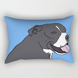 Cash The True Bluenose Pit Bull Rectangular Pillow