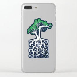 Square Root Clear iPhone Case