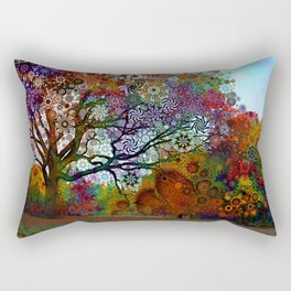 Afternoon Lght Rectangular Pillow