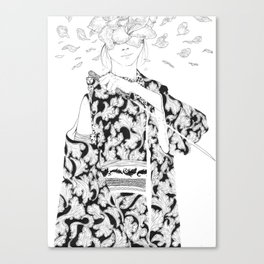 Blind Canvas Print