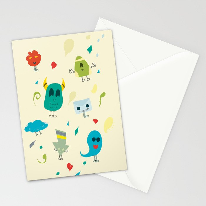 I mostri Stationery Cards