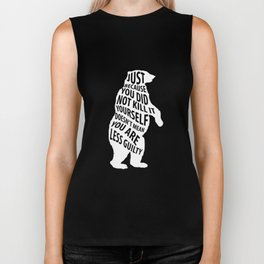 Because Didn't Kill It Doesn't Mean You Less Guilty T-Shirt Biker Tank