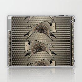 Buffalo Running (Gray) Laptop & iPad Skin