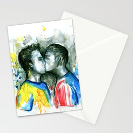 Kiss players Stationery Cards