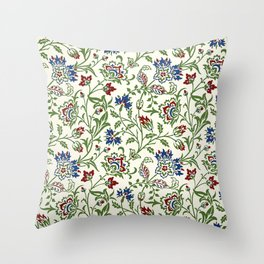 """William Morris """"Brentwood"""" Throw Pillow"""