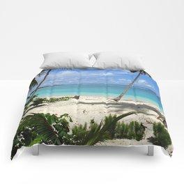 Blue Beach Comforters