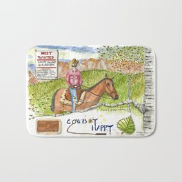 Cowboy Harry Bath Mat