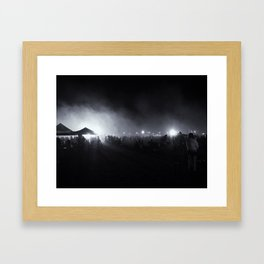 Fourth of July Aftermath Framed Art Print
