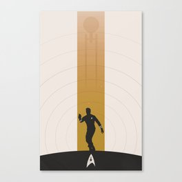Kirk (Original Series) Canvas Print