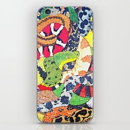 Snakes iPhone Skin