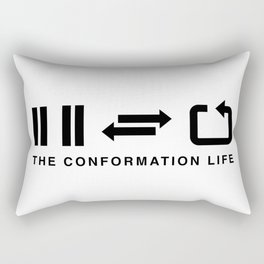 The Conformation Life Rectangular Pillow
