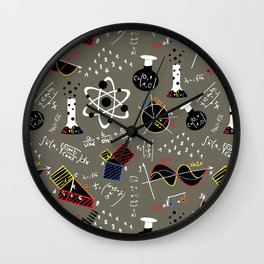 Science Fair Wall Clock