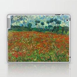 Vincent Van Gogh Poppy Field Laptop & iPad Skin