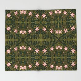 Briar Rose Throw Blanket