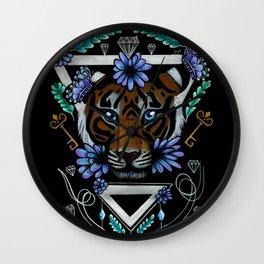 Powerful Tiger  Wall Clock