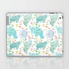 Lazy Manatees Laptop & iPad Skin