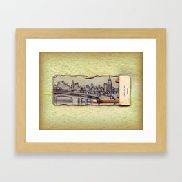 Brooklyn-Queens Expressway Framed Art Print
