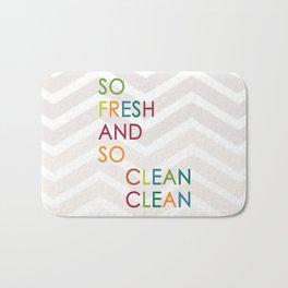 So Fresh and So Clean Clean! Bath Mat